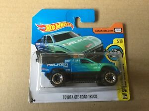 """Die Cast """" Toyota off-Road Truck """" Hot Wheels Scale 1/64"""