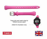 Genuine Timex Pink Resin Watch Strap Band for T5K525 Timex Watch - 12mm Fitting