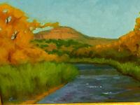 New Mexico Artist Gary Sanchez Acrylic on Canvas