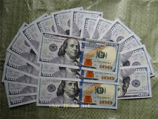 $100 New Dollars 100Pcs Fake bills, performance props