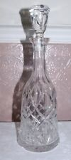 Waterford Crystal Cut Glass Tall Decanter Nocturn