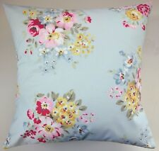 """Shabby Chic Cushion Cover in Cath Kidston Blue Spring Bouquet 16"""""""