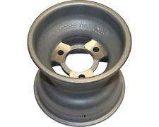 TonyKart Genuine 120mm AXP Silver Aluminium / Ally Front Wet Wheel UK KART STORE