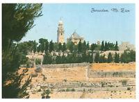 Jerusalem: Mount Zion General View Israel, Palestine Rare Picture Postcard