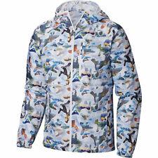 Columbia Men's Flash Forward Printed Windbreaker Jacket Medium MSRP $75
