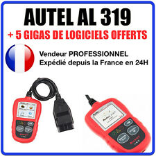 Interface Diagnostique AUTO MultiMarques - AUTEL AutoLink AL319 Diag Auto OBD2