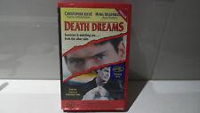 CHRISTOPHER REEVE  / MARG HELGENBRGER    *  DEATH DREAMS  *    RARE VHS