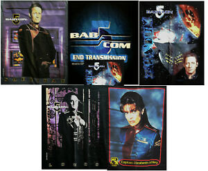 """Vintage """"Babylon 5"""" T-Shirt Collection —> Your Choice of Style & Size"""