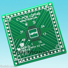 1 piece LQFP-48 LQFP48 to DIP Adapter PCB SMD convert