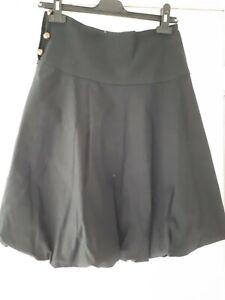 Black Puff Ball Skirt