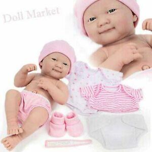 "New - Berenguer La Newborn 8 pc Nursery Set - includes 14"" Vinyl Baby Doll"