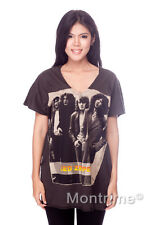 Led Zeppelin Jimmy Page HARD ROCK t4 ART WOMEN Tank TOP T-SHIRT Tunic Size M L