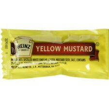 Pack of 500: SIMPLY HEINZ Single Serve Yellow Mustard, 5.5 Gr. Packets