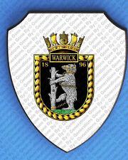 HMS WARWICK WALL SHIELD