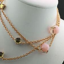 Unbehandelte Echtschmuck-Halsketten Opal