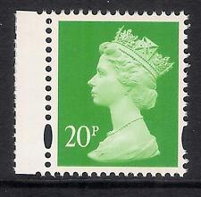GB 1997 SG Y1686 20p Verde foto. diritto Band BBC LIBRETTO FRANCOBOLLI Gomma integra, non linguellato EX Y1681