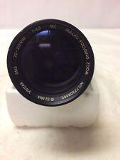 Vivitar 70-210mm f4.5 MC Macro Focusing Zoom Lens - Pentax K mount SMS 1:4X