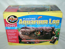 New Zoo Med Fa-30 Floating Aquarium Log Large Size for fish, newts, frogs, etc.
