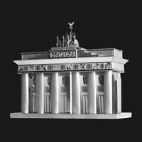 Metal Earth Brandenburg Gate DIY laser cut 3D steel model kit