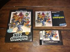 Kid Chameleon (Sega Genesis, 1992) complete in box. Tested and authentic.