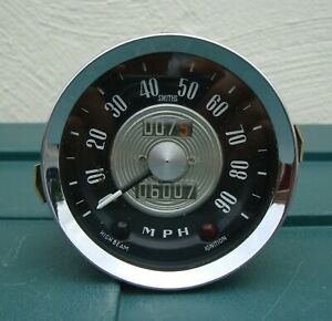 CLASSIC CAR SMITHS No.SN6114 / 00 SPEEDOMETER IN GOOD USED CONDITION ~ 1960's