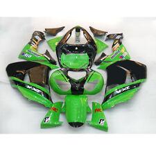 HIG New ABS Painted Bodywork Fairing Full Set For Ninja ZX 10R 2006 2007 (B)