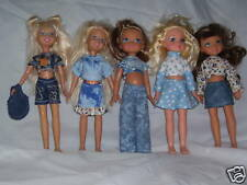 "NG Creations Sewing Pattern #PP76 fits 10"" Stacie Barbie Sis & MGA 4 Ever Dolls"