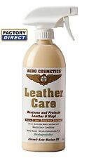 Leather Care 16 oz Leather vinyl conditioner for Aircraft Car RV Motorcycle Boat