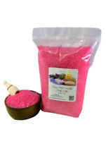 5lbs Bath Salts ~Choose from ~150 Scents - 20 Colors - 3 Grain Sizes~