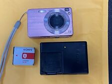 Digital Camera: Sony Cybershot DSC-W120 W/ Battery and Charger