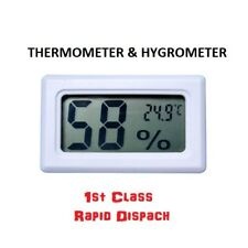 DIGITAL INCUBATOR HUMIDITY THERMOMETER FERTILE EGG POULTERY DUCK CHICK BROODER