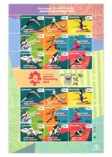 Indonesia 2018 The 18th Asian Games Sports Sheetlet of 18 Stamps Mint Unhinged