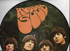 "THE BEATLES - RUBBER SOUL - 12"" VINYL PICTURE DISC LP - UK IMPORT"