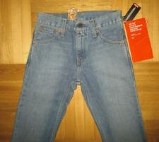 Men's New Levi's 516 Jeans Flare Medium Blue Denim size W26 L32