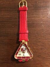 Vintage Mebus Ladies Watch Christmas Santa Claus New Swarovski Crystals