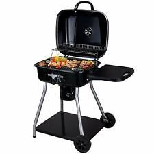 Sunjas Barbecue à Charbon BBQ de Bois Barbecue de Jardin (102×57×95CM)