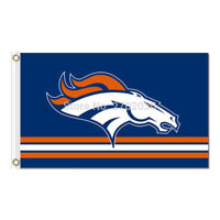 Denver Broncos flag banner 3x5ft Polyester FREE SHIPPING! American Football