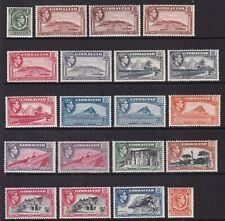 GIBRALTAR 1938-51 SET & SHADES/PERFS, FINE MINT, CAT £284
