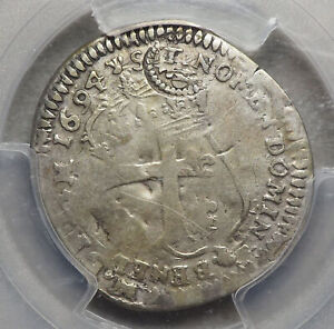 FRANCE, American Colonies. Lis c/m, Edict of 1640, Sou of 15 Deneirs, PCGS F12