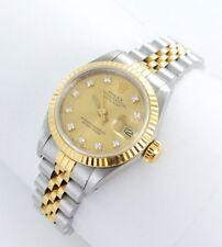 Rolex Datejust Damenuhr mit Brillanten Stahl/Gold ref. 69173