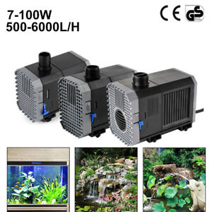500-6000l/h Teichpumpe SuperECO Bachlaufpumpe CTP Filterpumpe WasserPumpe