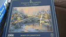 Gibsons Thomas Kinkade pintor de la luz (espíritu de la Navidad)