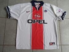 PARIS SG Ancien Maillot Football n°9 SIMONE Saison 1997/98 OPEL T.Adulte XL PSG