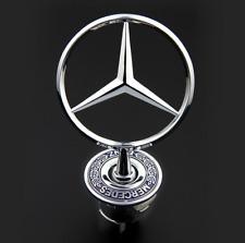 Chrome Star Hood Logo Emblem Badge 3D for Mercedes Benz w210 w202 w203 C200 w211