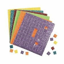 """Foam Adhesive Glitter Squares (500 Pieces) - Each Square, Approx. 1/4""""."""