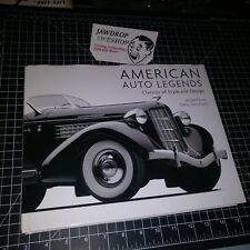 AMERICAN AUTO LEGENDS CLASSIC STYLE DESIGN MICHAEL FURMAN TRACY POWELL HARDCOVER