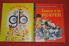 Little Golden Book: LEAVE IT TO BEAVER #197 1973 gb COVER LIKE NEW CONDITION
