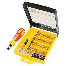 30 Pcs Torx Spanner Slotted Triangle Bits Screwdriver Hand Tool Set