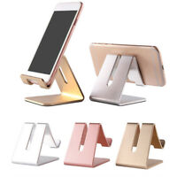 Home Office Desk Desktop Phone Stand Aluminum Holder For IPhone Cellphone Tablet