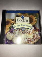 Cook'n Recipe Organizer PC CD electronic cookbook, manager, planner, nutrition +